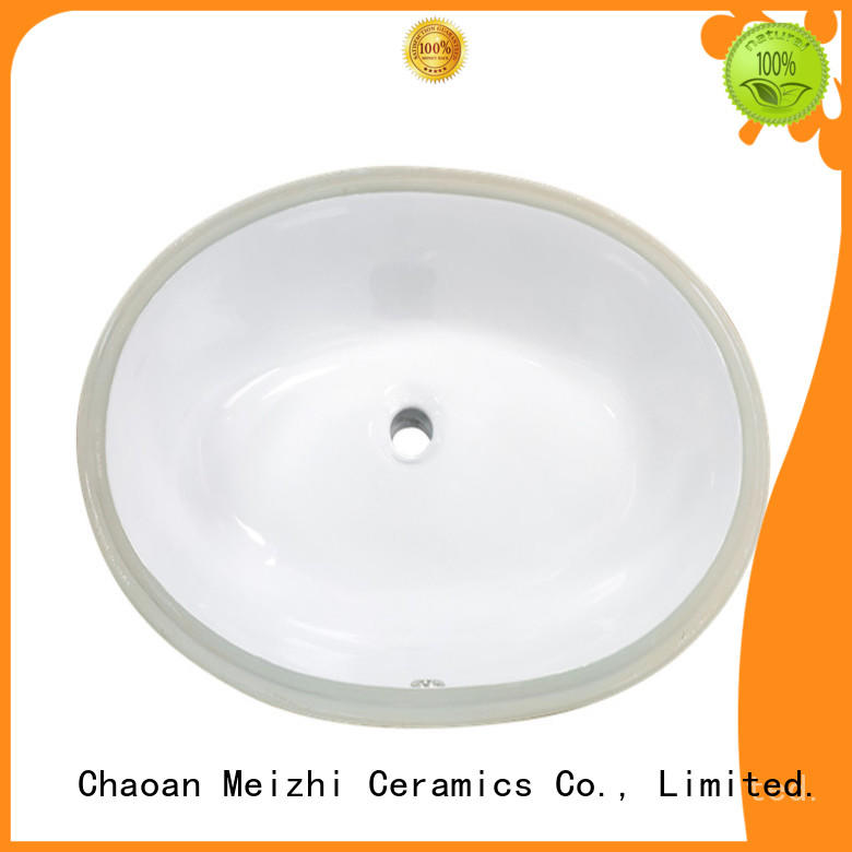 Meizhi table top wash basin supplier for hotel