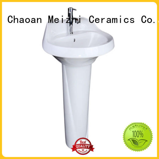 Meizhi pedestal lavatory with good price for home