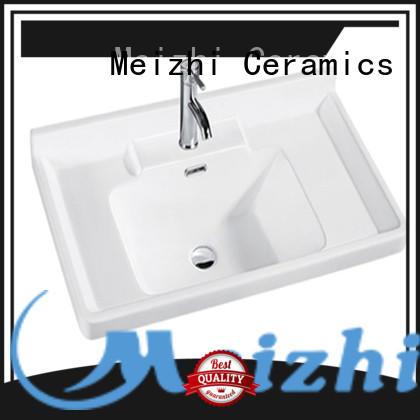 Meizhi excellent bathroom basins and cabinets wholesale for washroom
