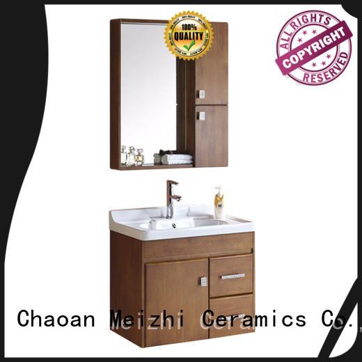 Meizhi bathroom cabinet custom for hotel