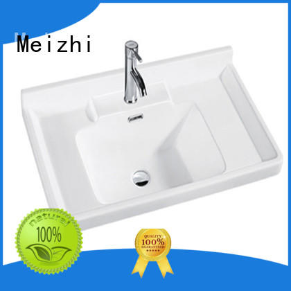 Meizhi contemporary wash basin sink directly sale for washroom