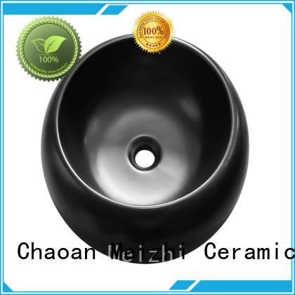 modern black basin custom for hotel