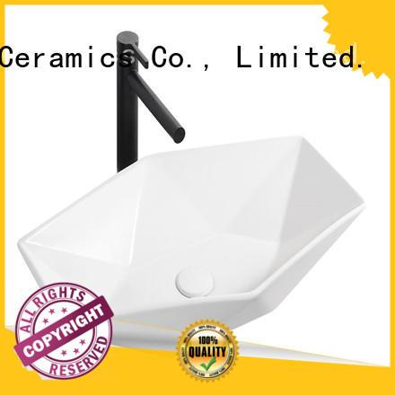 modern design ceramic wash basin manufacturer for home