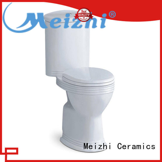 Meizhi 2 piece toilet directly sale for home