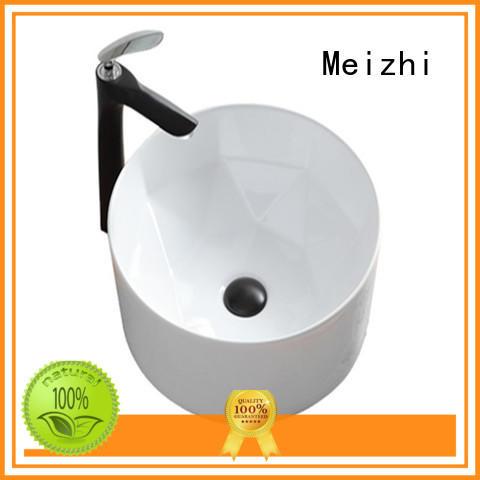 Meizhi art basin manufacturer for washroom