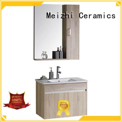 Meizhi bathroom vanity cabinets supplier for bathroom