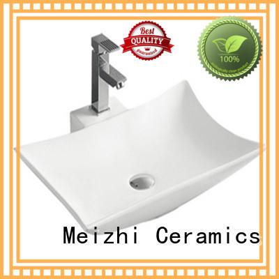 Meizhi hot selling stylish wash basin customized for bathroom