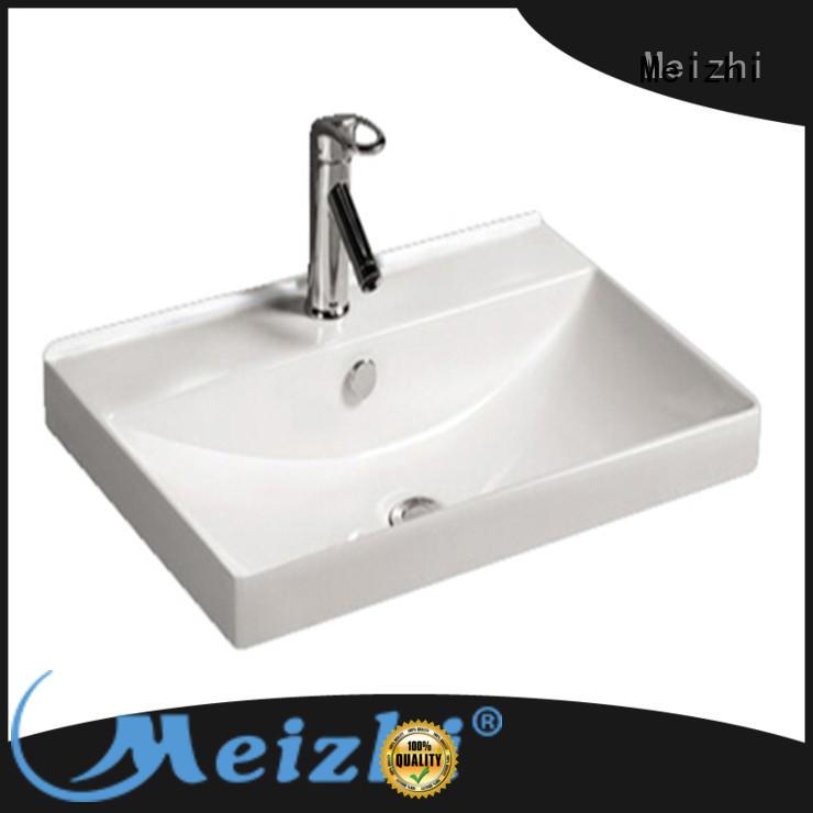 Meizhi ceramic bathroom wash basin with good price for bathroom