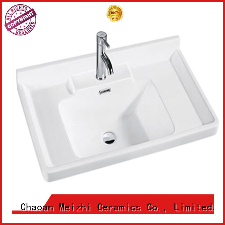 rectangular cabinet basin directly sale for bathroom