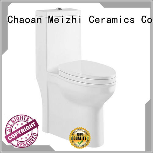 ceramic one piece comfort height toilet manufacturer for bathroom
