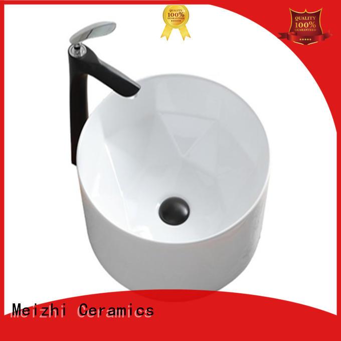Meizhi round wash basin manufacturer for hotel