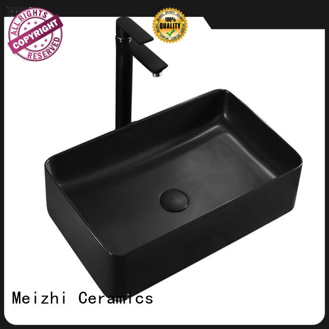 Meizhi black bathroom basin wholesale for bathroom