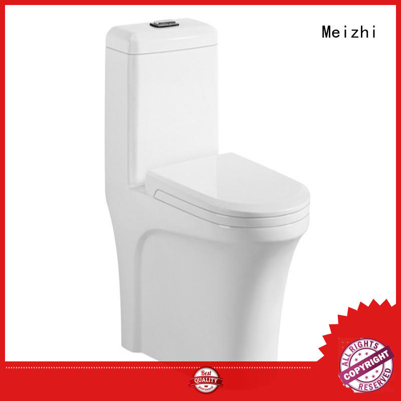 Meizhi ceramic american standard one piece toilet directly sale for hotel