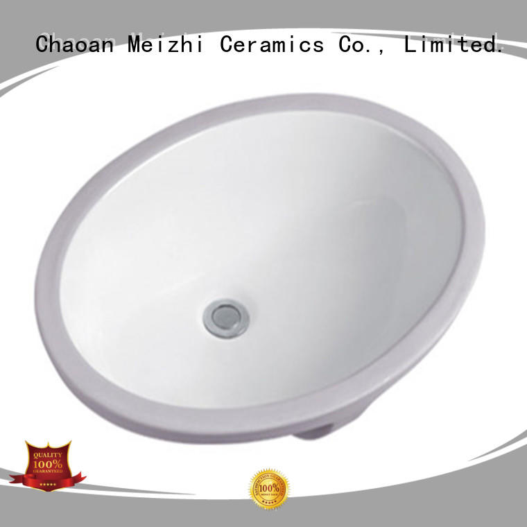 Meizhi contemporary counter top basin directly sale for home