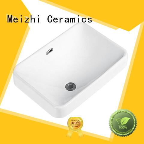 Meizhi contemporary counter top basins supplier for bathroom