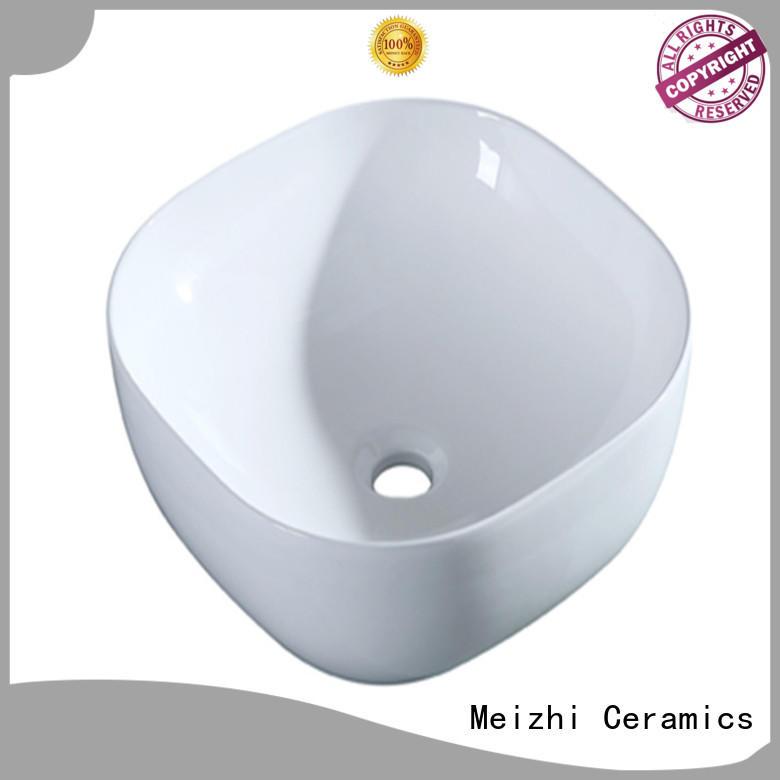 Meizhi white sink basin wholesale for washroom