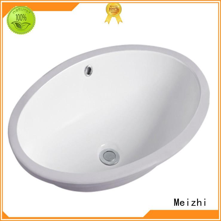ceramic countertop basin unit customized for bathroom