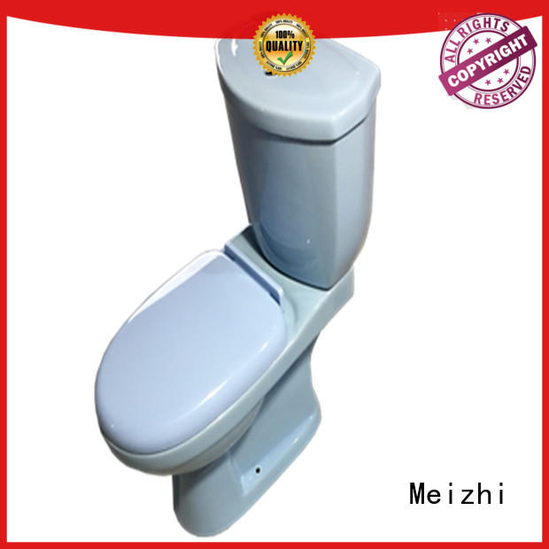 Meizhi comfortable two piece toilet manufacturer for washroom