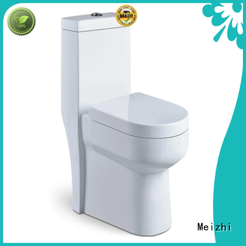 Meizhi modern american standard one piece toilet supplier for bathroom