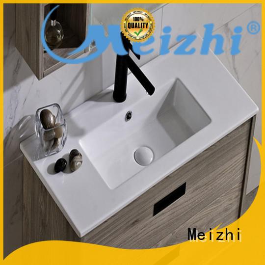 Meizhi rectangular bathroom basin units directly sale for washroom