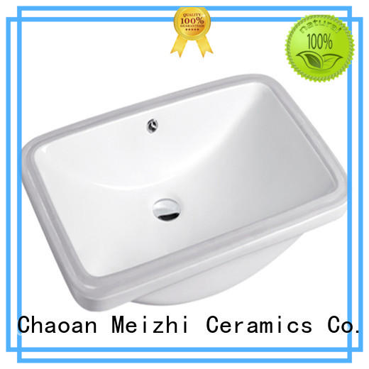 Meizhi high quality wash basin counter supplier for home