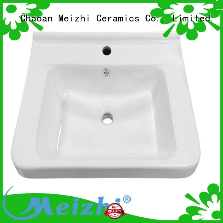 ceramic vanity basin with good price for washroom