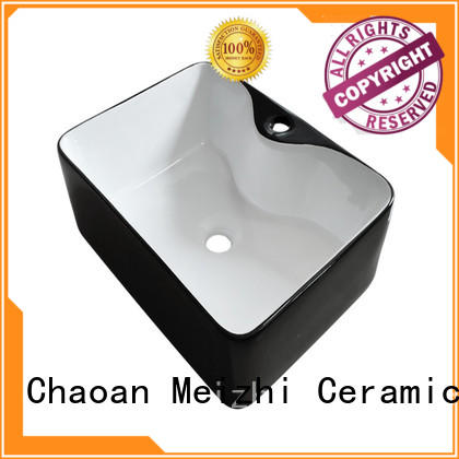 creative black bathroom sink manufacturer for washroom