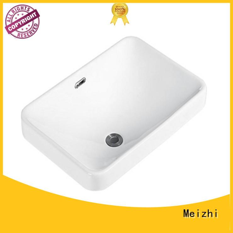 Meizhi popular table top basin customized for washroom