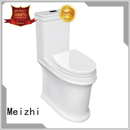 Meizhi ceramic one piece round toilet directly sale for bathroom