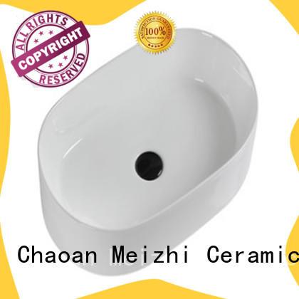 Meizhi fancy wash basin models manufacturer for hotel
