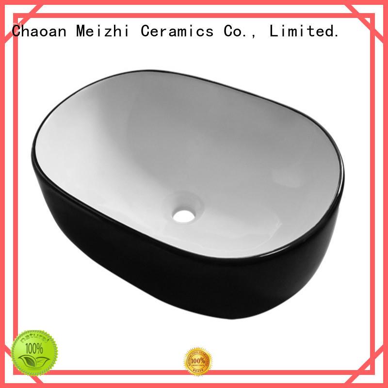 modern black bathroom basin manufacturer for cabinet