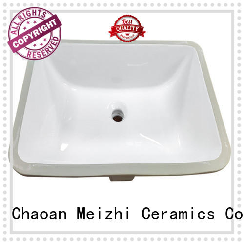 above counter bathroom basin for hotel Meizhi