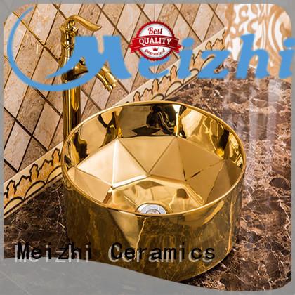 Meizhi round wash basin supplier for bathroom