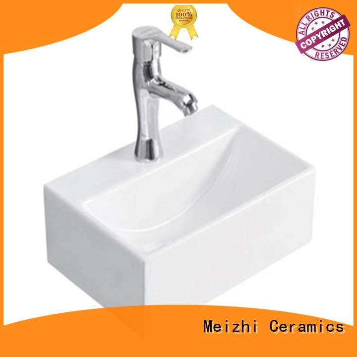 Meizhi wash basin size manufacturer for bathroom