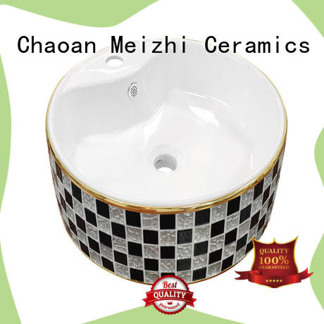 Meizhi ceramic wash basin customized for bathroom