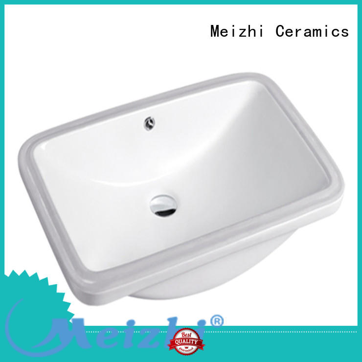 Meizhi contemporary under counter wash basin supplier for bathroom