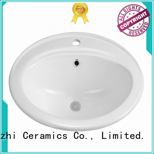 Meizhi counter top basin unit directly sale for home
