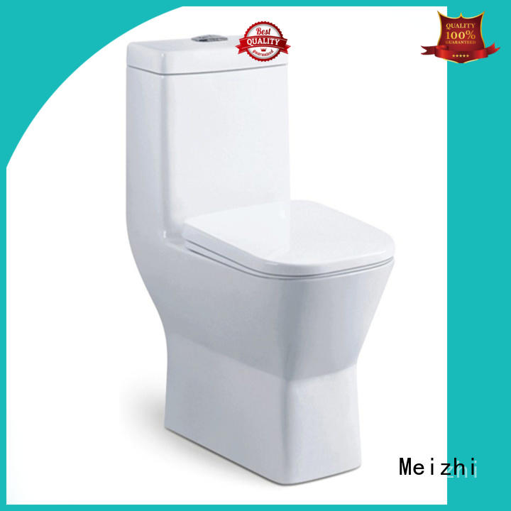 Meizhi modern one piece toilet manufacturer for bathroom