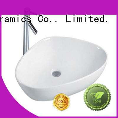 gold wash basin size supplier for home