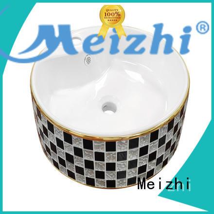 Meizhi elegant wash basin models manufacturer for hotel