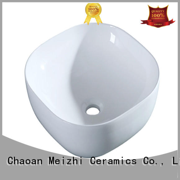 Meizhi modern design toilet hand basin factory price for washroom