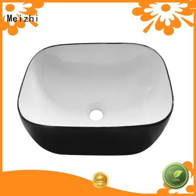 Meizhi basin black manufacturer for hotel