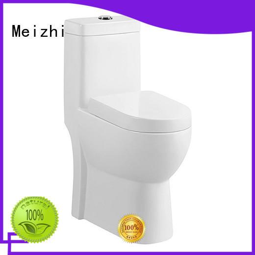 Meizhi ceramic one piece round toilet with good price for washroom