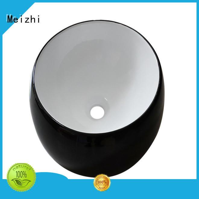 popular black bathroom sink supplier for cabinet