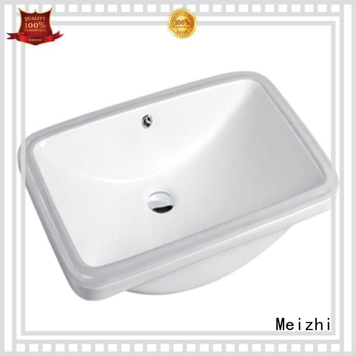 Meizhi popular counter top basin unit manufacturer for hotel
