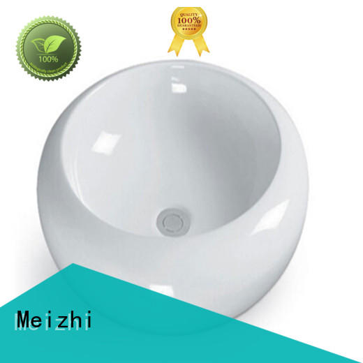 Meizhi printed wash basin size directly sale for hotel