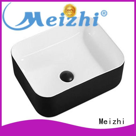 Meizhi black basin custom for cabinet