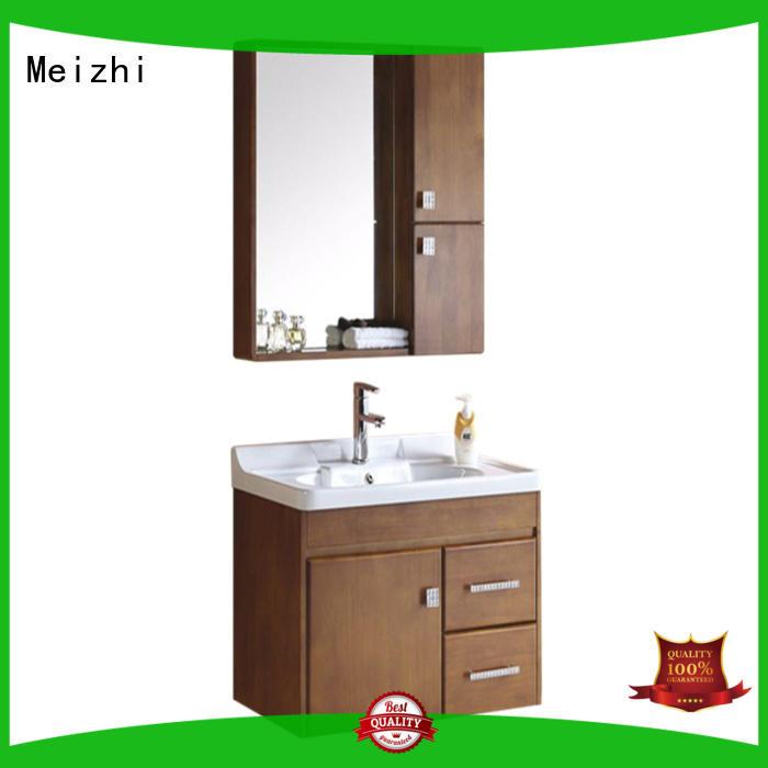 Meizhi popular bathroom vanity cabinets supplier for hotel