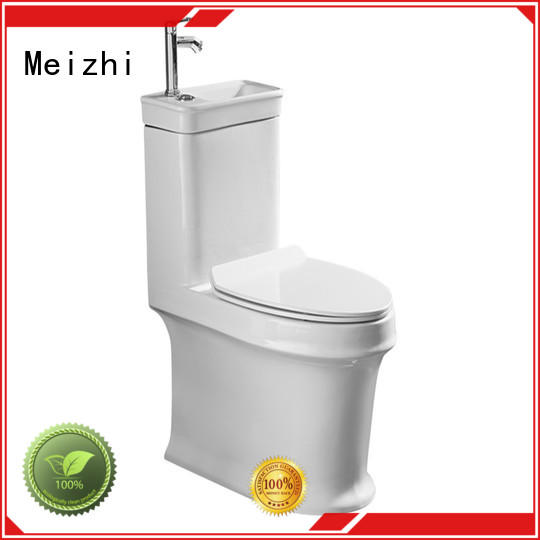 Meizhi one piece comfort height toilet with good price for bathroom