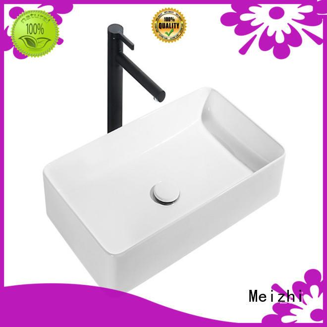 Meizhi gold stylish wash basin directly sale for washroom